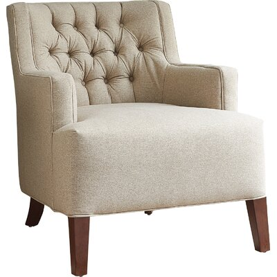 Martina Armchair Fabric: Devon Mouse