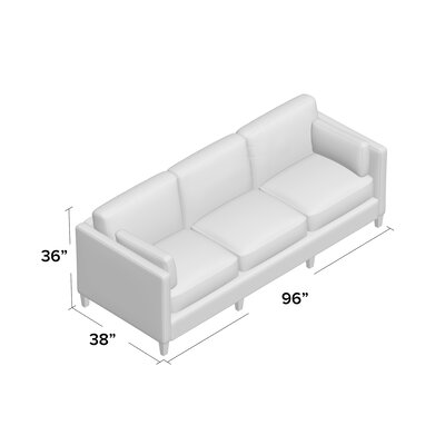 Beau Sofa Body Fabric: Empire Steel