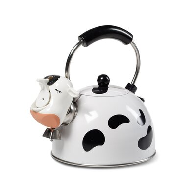 2.5-qt. Cow Whistling Tea Kettle