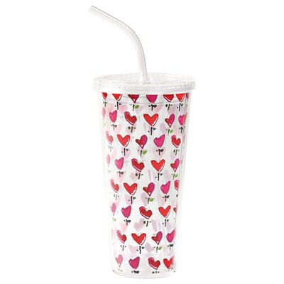 Love 20 Oz. Little Hearts Double Wall Insulated Tumbler KD-T6252-EC