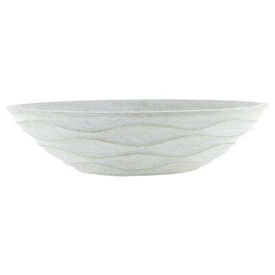 Urban Wave Ceramic Pot Planter Color: Chalk 7603-04-437