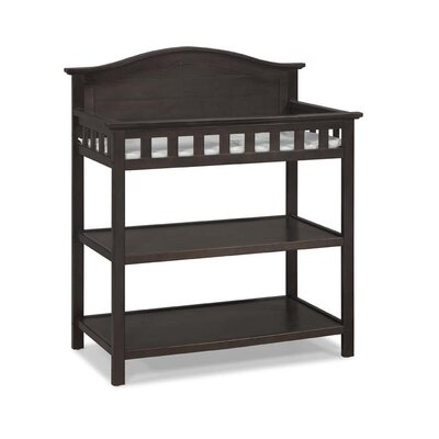 Thomasville Kids Southern Dunes Dressing Table with Pad Finish: Espresso 00524-329
