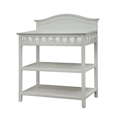 ThomasvilleKids Southern Dunes Changing Table with Pad Finish: White