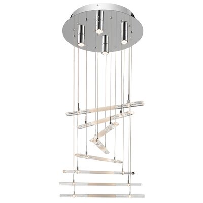 Trappa 20-Light Cascade Pendant