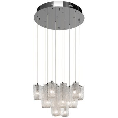 Zanne 15-Light Waterfall Chandelier