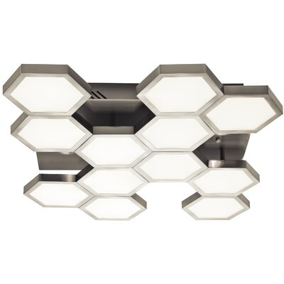 Hexel 1-Light Flush Mount