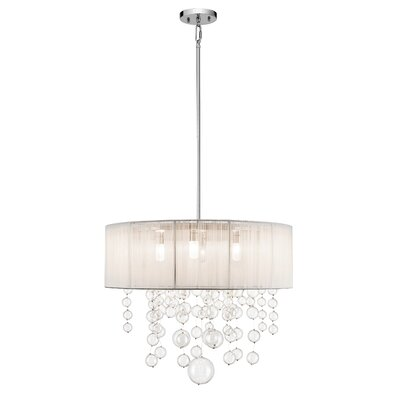 Laila 5-Light Drum Pendant