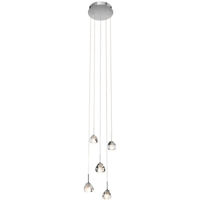 Charla 5-Light Cascade Pendant