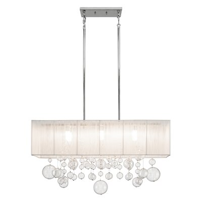 Laila 6-Light Kitchen Island Pendant