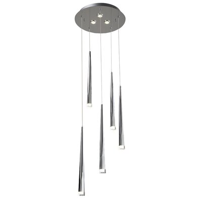 Antonia 5-Light Cascade Pendant