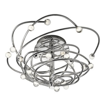 Lexiko? 12-Light Geometric Pendant