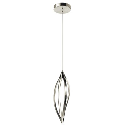 Sophie 1-Light Mini Pendant Finish: Brushed Nickel