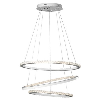Allos? 3-Light Geometric Pendant