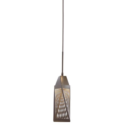 Vitalina? 1-Light Mini Pendant Finish: Architectural Bronze