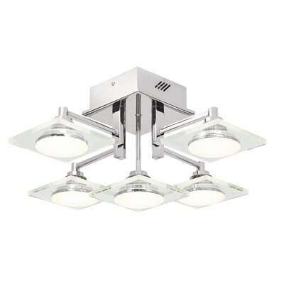 Firosi? 5-Light Semi Flush Mount