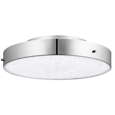 Crystal Moon 1-Light Flush Mount