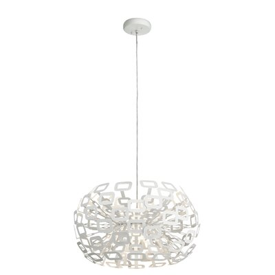 1-Light Globe Pendant Size: 15.5 H x 23.75 W x 23.75 D