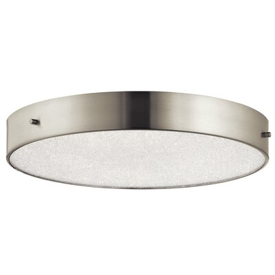 Cystal Moon 1-Light Flush Mount