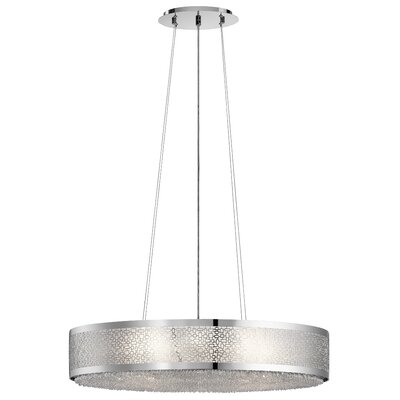 Massimo 8-Light Drum Pendant