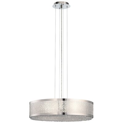 Massimo 8-Light Drum Pendant Size: Large