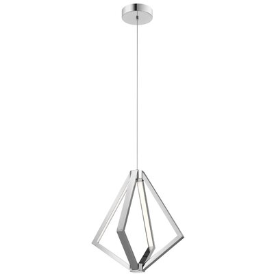 Everest 6-Light Geometric Pendant Finish: Chrome