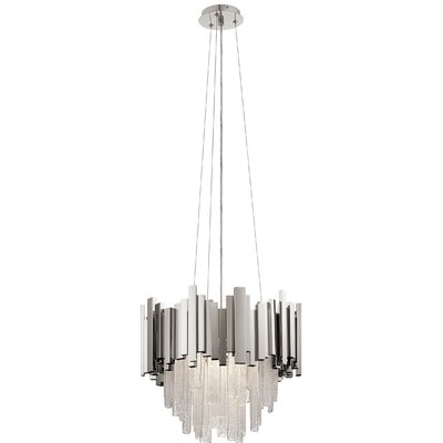 Skyline 1-Light Geometric Pendant Size: 14.9 H x 18.11 W x 18.11 D