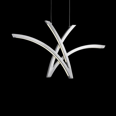 Zara? 4-Light Geometric Pendant