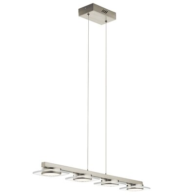 Ruano 4-Light LED Kitchen Island Pendant