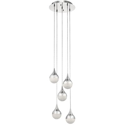 Ruark 5-Light LED Cluster Pendant