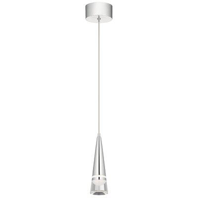 Runge LED Mini Pendant Size: 10.5 H x 3 W x 3 D