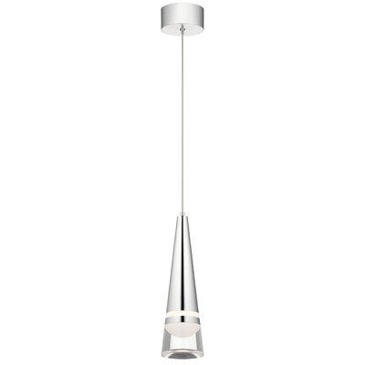 Runge LED Mini Pendant Size: 16 H x 4.75 W x 4.75 D