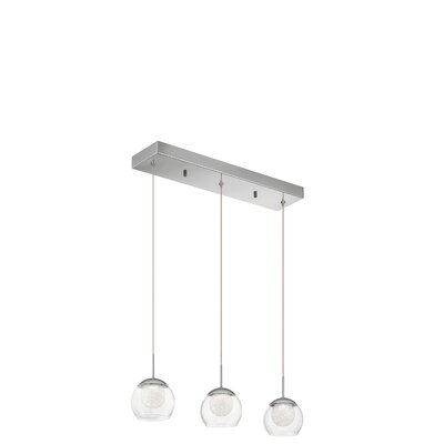 Dickison 3-Light LED Kitchen Island Pendant