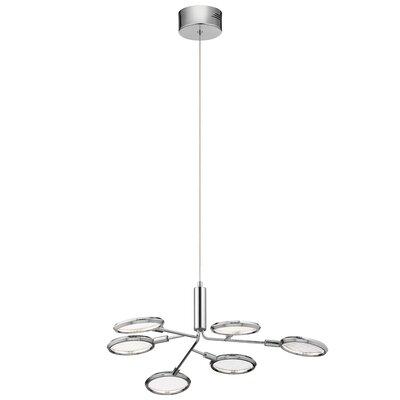 Rusnak 6-Light LED Sputnik Chandelier