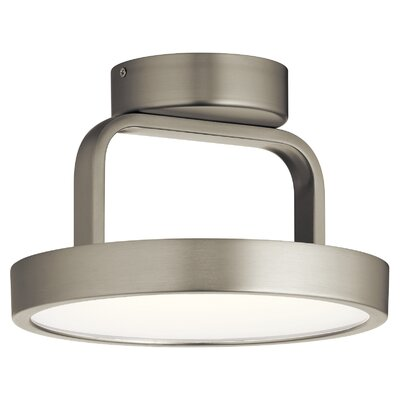 Rutz 1-Light LED Semi Flush Mount