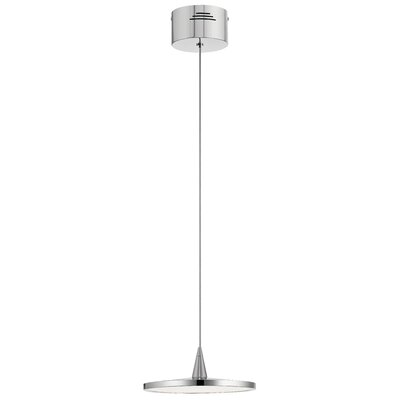 Antigone 1-Light LED Mini Pendant Finish: Chrome