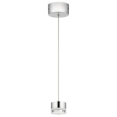 Royer 1-Light LED Mini Pendant Finish: Chrome