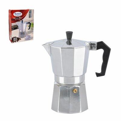 9 Cup Aluminum Espresso Maker 02-3010-9