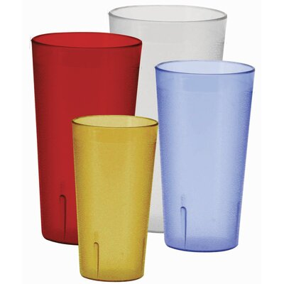 8oz Pebbled Tumblers Finish: Red PTP-08R