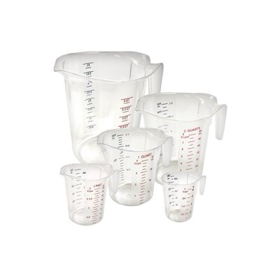 5 Piece Measuring Cup Set PMCP-5SET