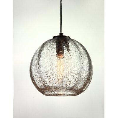 Vintage 1-Light Globe Pendant Finish: Satin Nickel