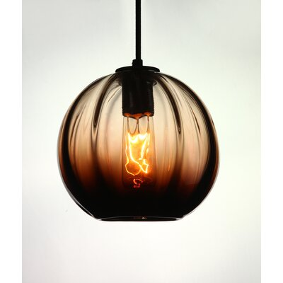 Vintage 1-Light Globe Pendant
