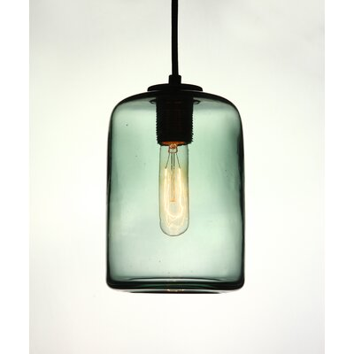 Vintage 1-Light Mini Pendant Shade Color: Gray