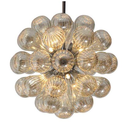 11-Light Globa Chandelier