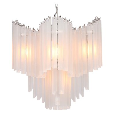 Opus 5-Light Waterfall Chandelier
