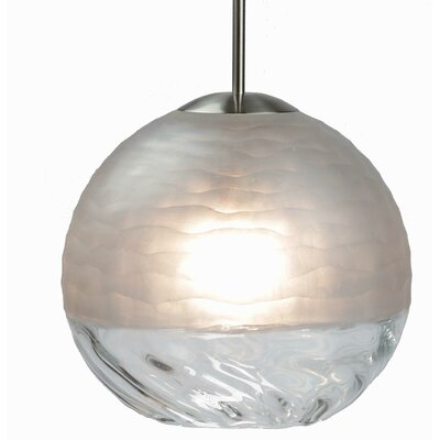 Encalmo 1-Light Globe Pendant Shade Color: Clear