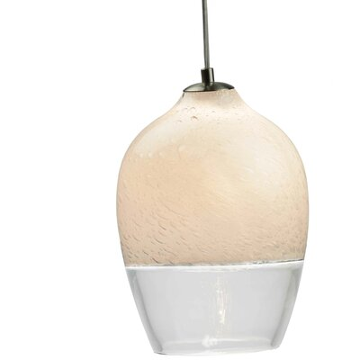 Encalmo 2-Light Mini Pendant Shade Color: Clear