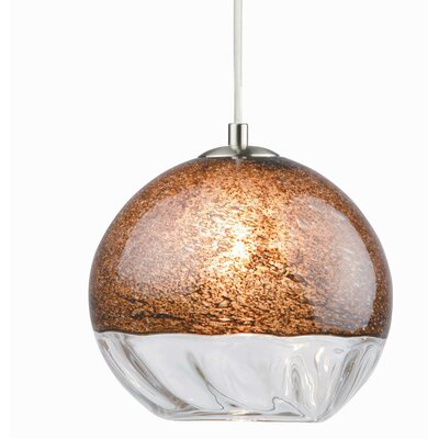 Encalmo 2 Geometric Pendant Shade Color: Chocolate Brown