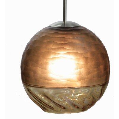Encalmo 1-Light Globe Pendant Shade Color: Naples Yellow