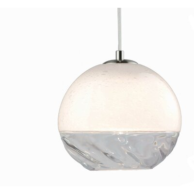 Encalmo 2-Light Globe Pendant Shade Color: Clear