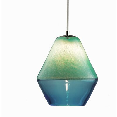 Encalmo 2-Light Geometric Pendant Shade Color: Aqua